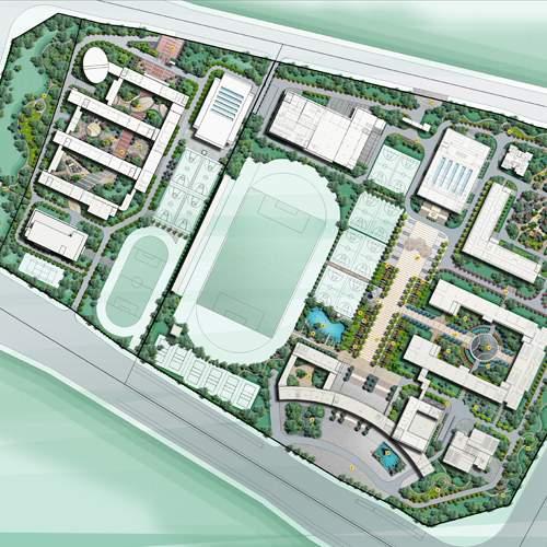 云南师范大学附属中小学呈贡新校区景观工程
